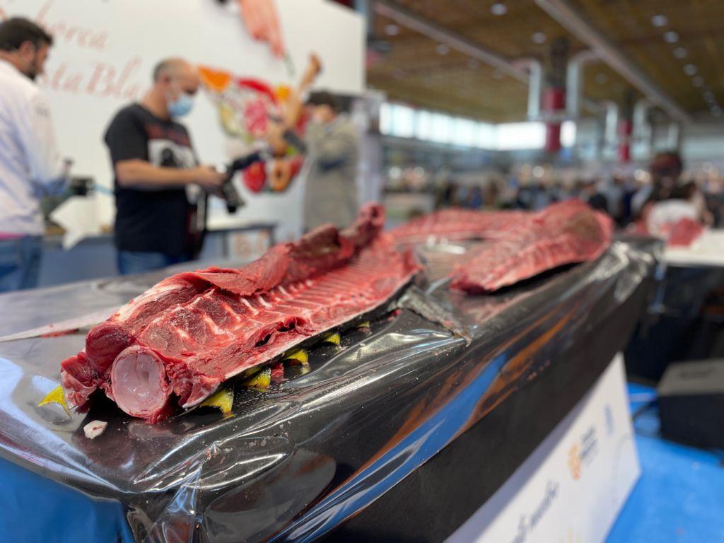 Ronqueo de atún rojo en Alicante Gastronómica