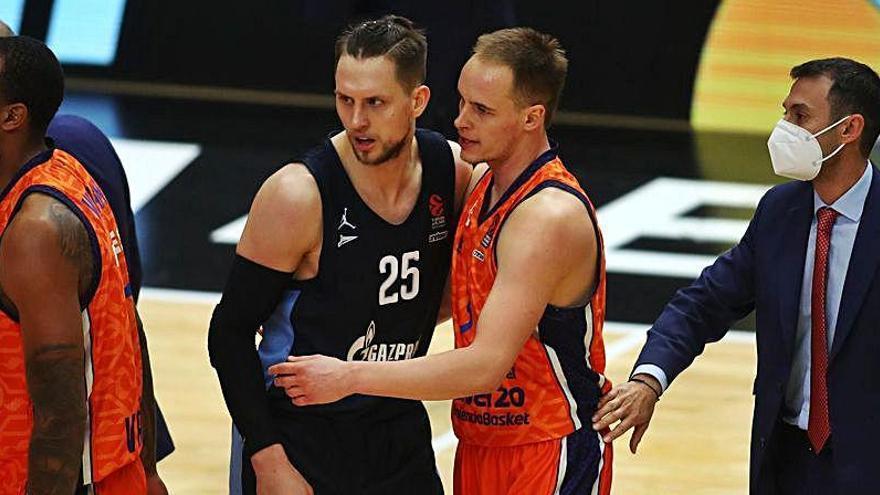 Horario y dónde ver el Zenit - Valencia Basket