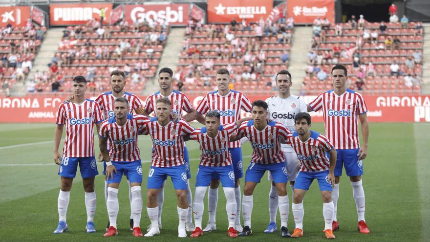 Girona - Las Palmas, en fotos