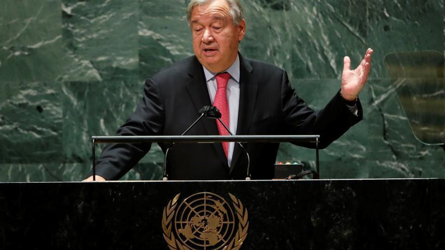 """Guterres abre la Asamblea General de la ONU alertando de un mundo """"al borde del abismo"""""""
