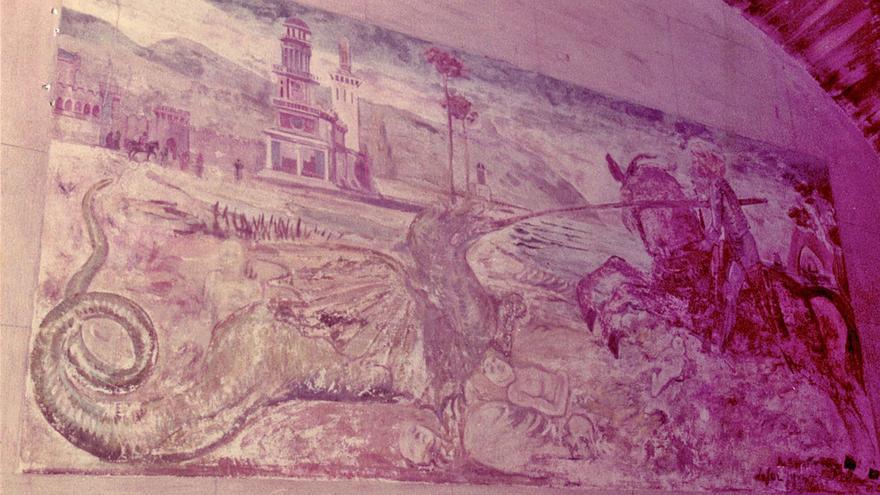 El infausto destino de un fresco de Sorolla en un castillo gallego