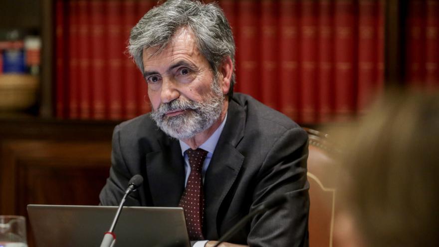 """El presidente del CGPJ pide """"prudencia"""" al responsable del TSJ de Castilla y León"""