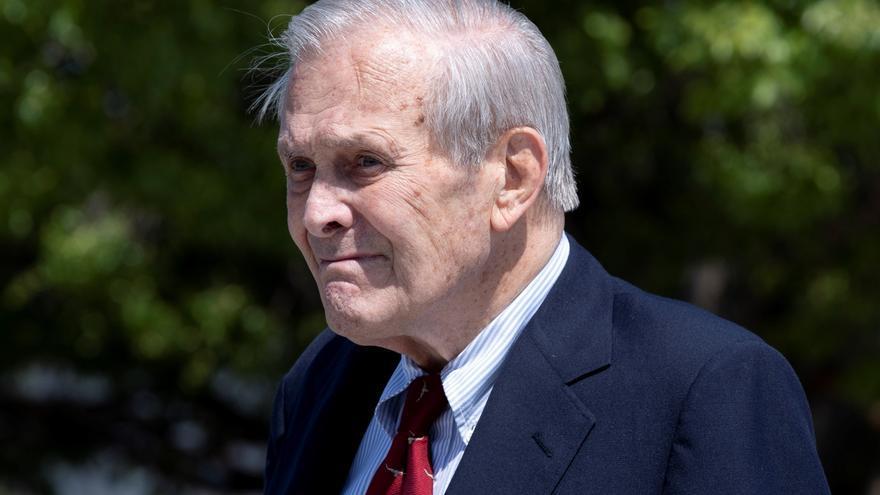 Muere a los 88 años Donald Rumsfeld, exsecretario de Defensa de EEUU