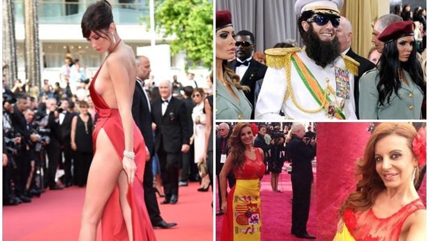 Los mayores escándalos vistos en la alfombra roja