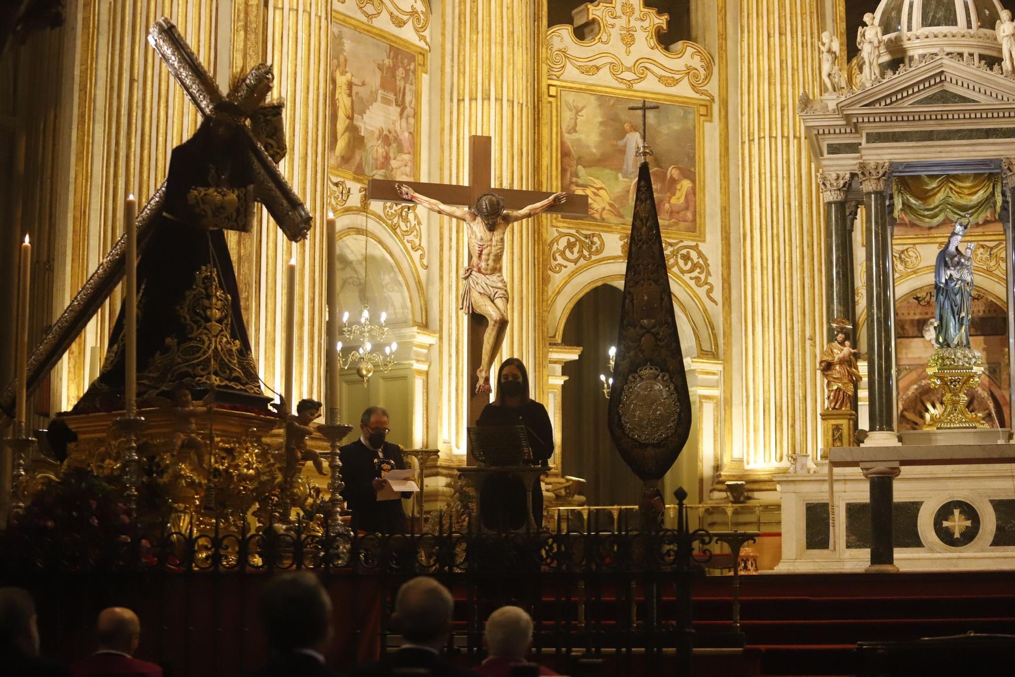 Acto de liberación de tres presos por El Rico en la Catedral