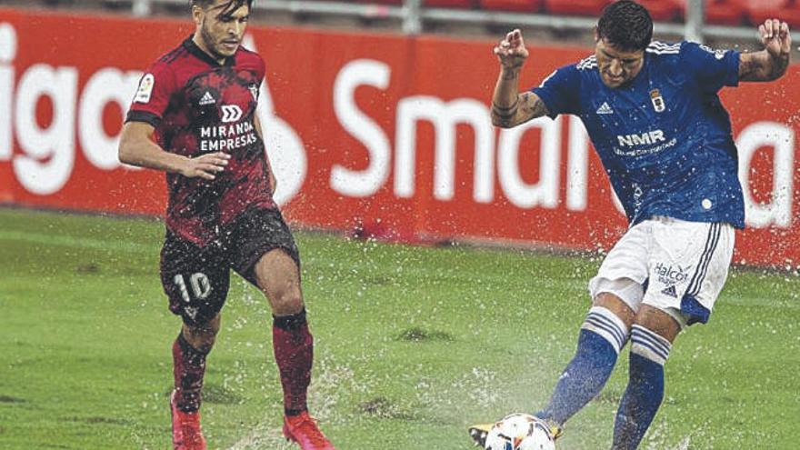 El Mirandés deja escapar el triunfo antes de visitar el Rodríguez López