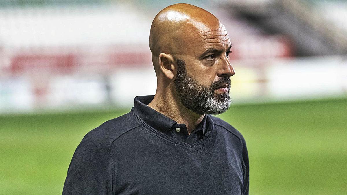 David Movilla, entrenador del Zamora CF. |