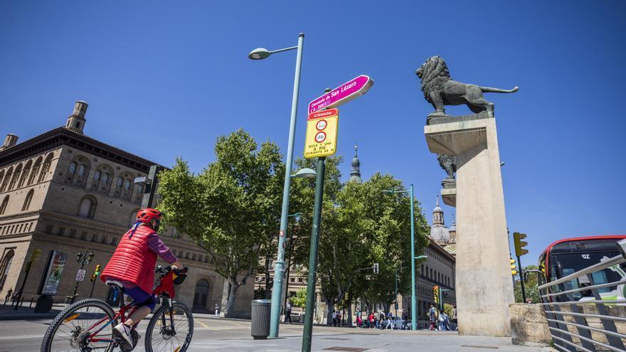 El colectivo pedalea se movilizará contra la interrupción del carril bici en Echegaray