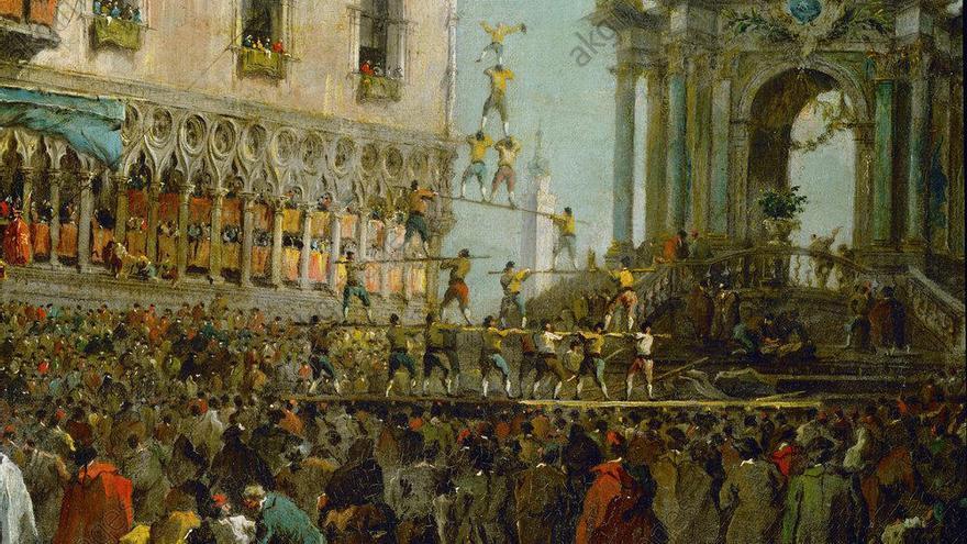 Torres humanes del món: les forces d'Hèrcules venecianes