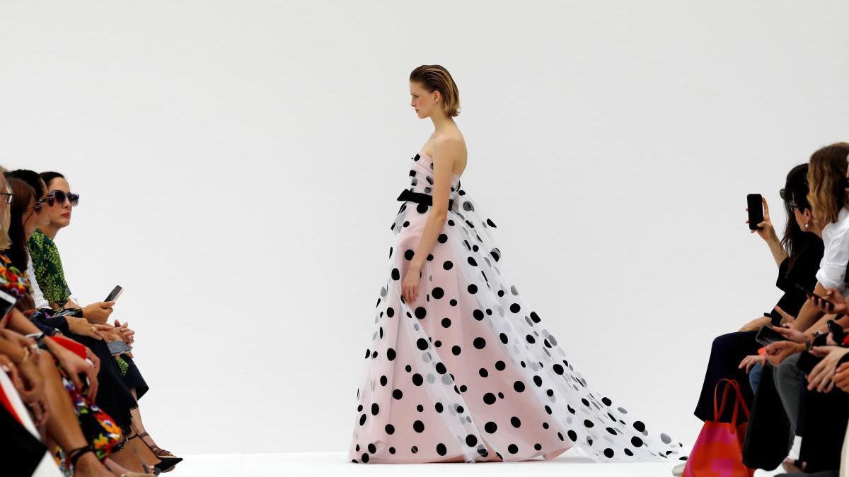 Desfile de Carolina Herrera en una edición anterior de la Semana de la Moda de Nueva York