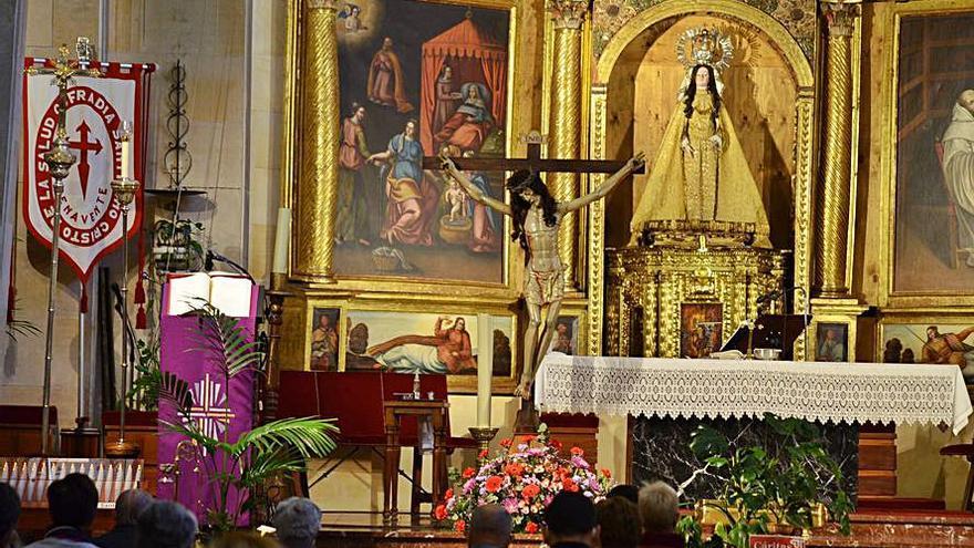 Tercer y último día de Triduo al Cristo de la Salud sin juramento de silencio