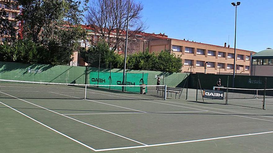 Las pistas de la Ciudad Deportiva, ya están listas para su utilización
