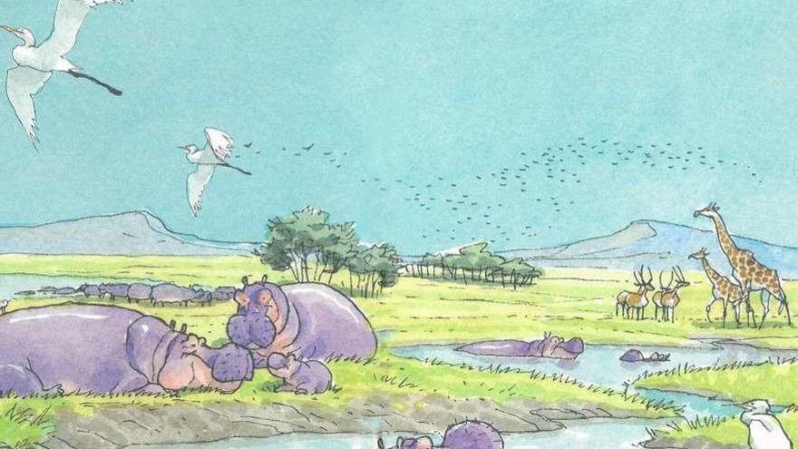 El hipopótamo que enamoró a Miguelanxo Prado