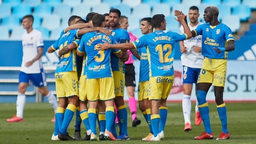 Tablas de la UD Las Palmas en Zaragoza (2-2)