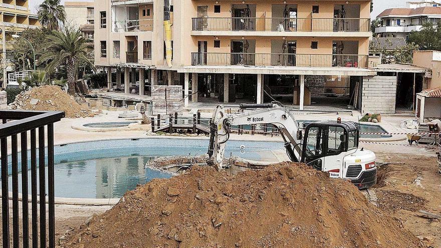 Los hoteles de Mallorca podrán ampliar al final un 15% de su superficie