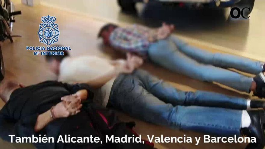 Golpe a la mayor red narco y de blanqueo del Levante, con 81 detenidos