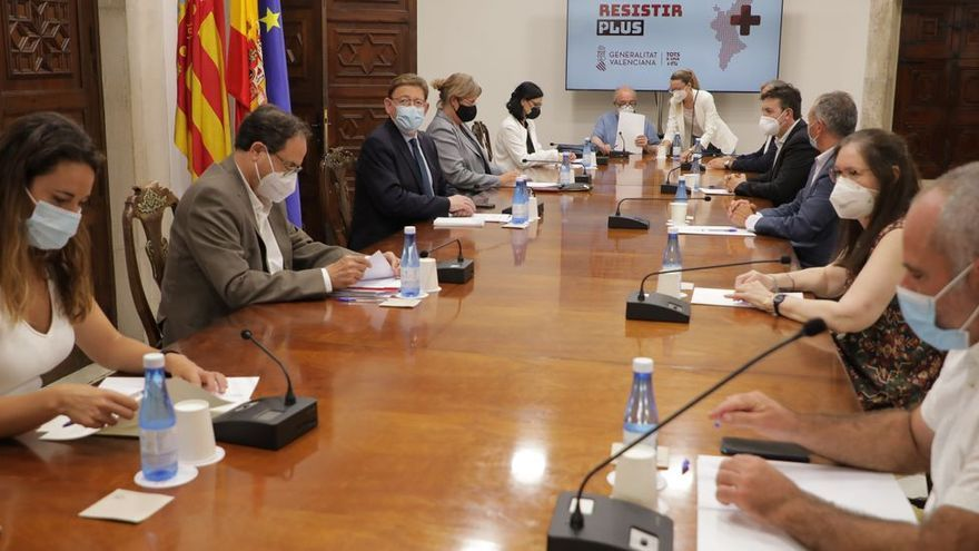 El Consell abre la mano con la segunda ronda del Plan Resistir y la amplía a todos los sectores