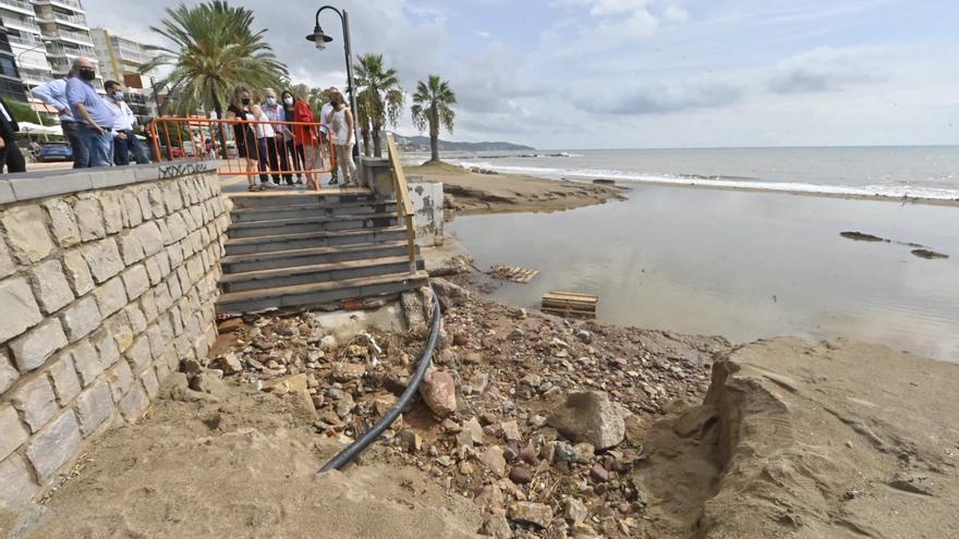 Una comisión posemergencia decidirá los daños que asume la Generalitat tras las inundaciones de Benicàssim