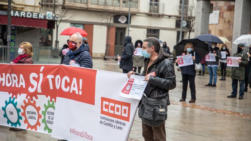 UGT y CC OO de Zamora piden al Gobierno que suba el sueldo mínimo