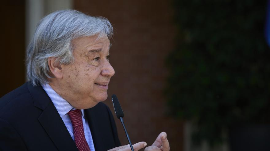 """António Guterres: """"Estamos a un paso del abismo"""""""
