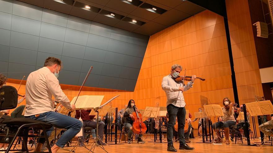 La Sinfónica tiene una doble cita con el director y violinista David Grimal