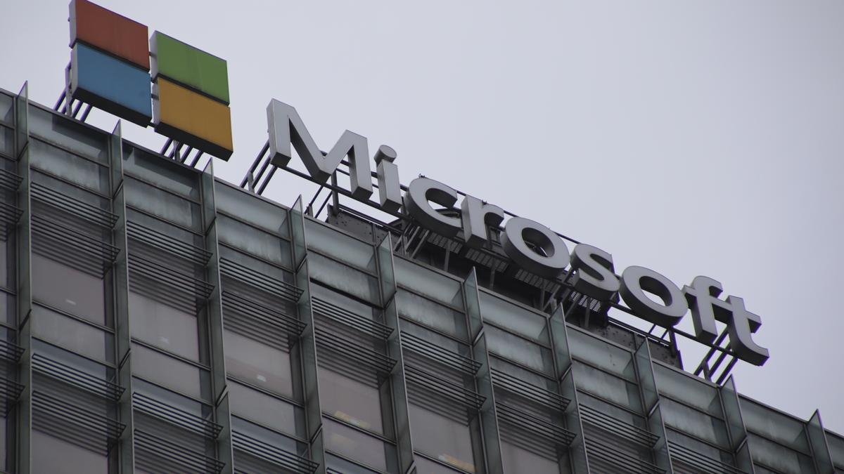 Una sede de Microsoft.