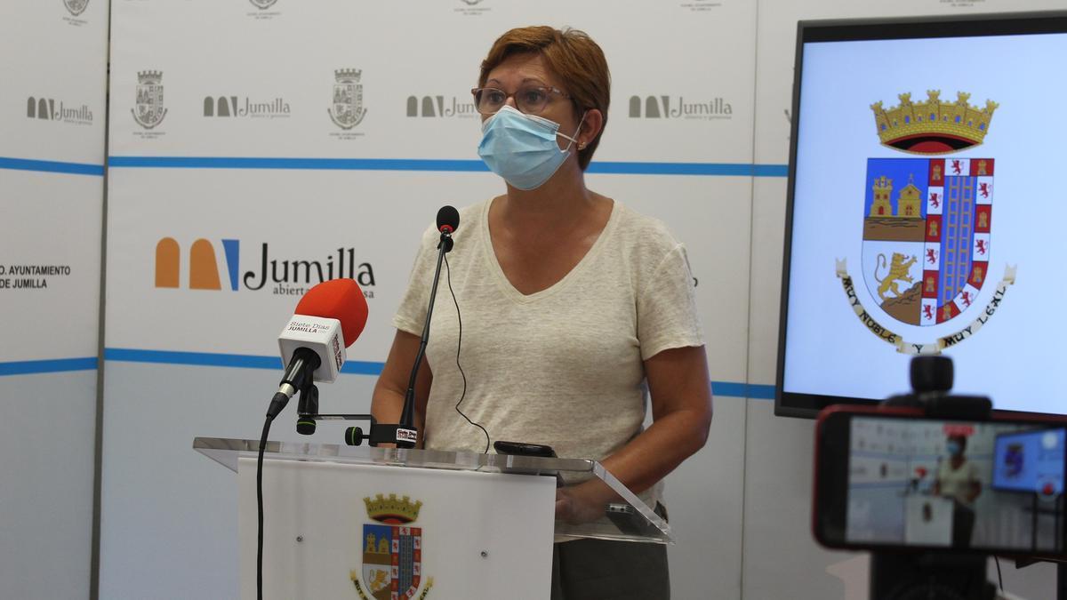 La alcaldesa de Jumilla, Juana Guardiola
