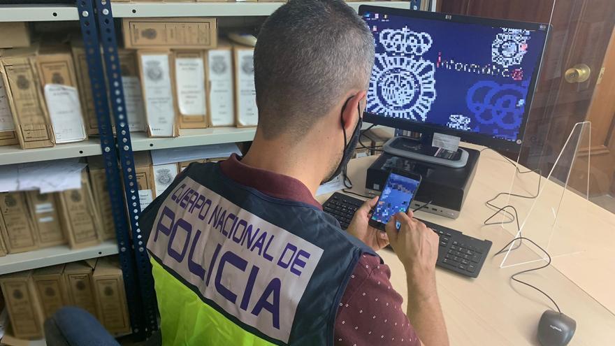 Detenido en Benidorm por grabar con el móvil un encuentro sexual con una mujer