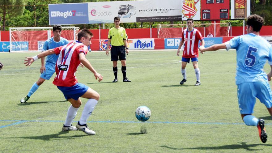 El Manresa fa la guitza al Girona B amb un inesperat gol de Lucho en el descompte