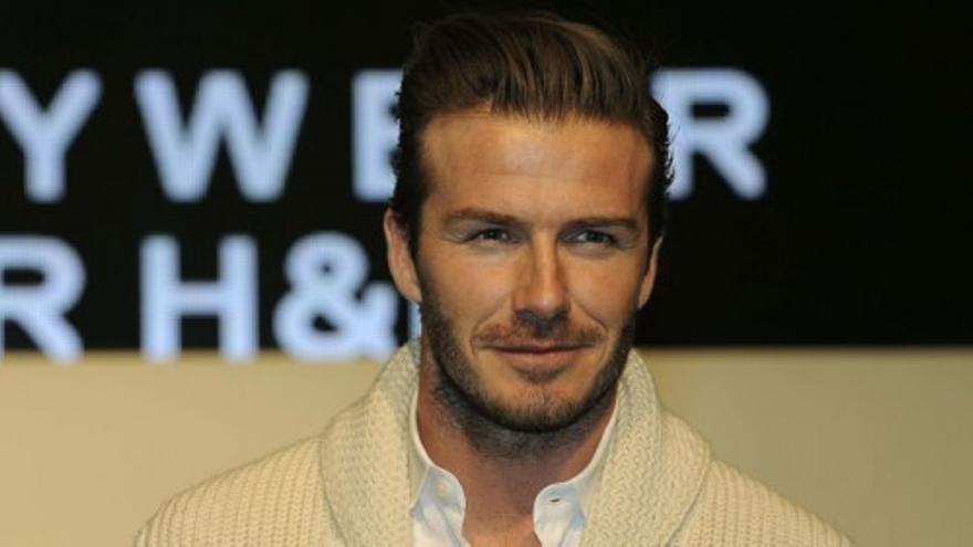 David Beckham presenta sus diseños de ropa interior