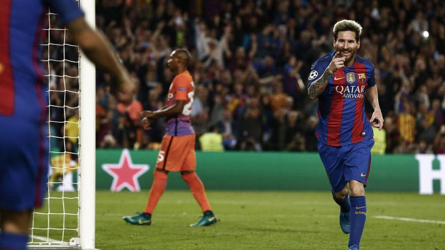 En Inglaterra ven a Messi decantándose por el Manchester City