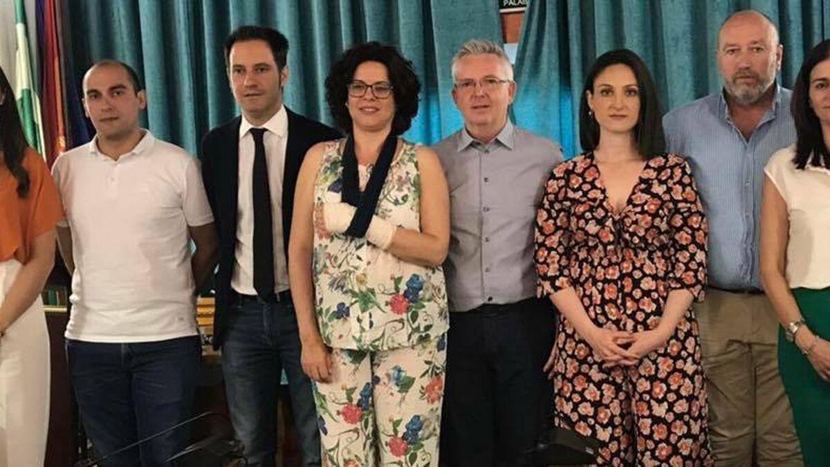 Foto del equipo de gobierno de Castro del Río.