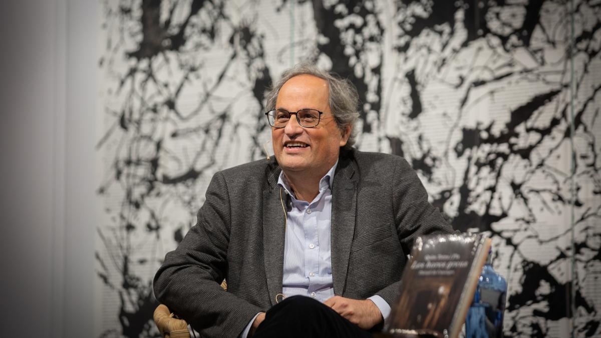 El expresidente de la Generalitat Quim Torra.
