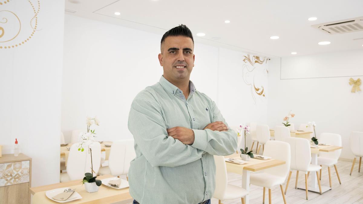 Francisco José Osorio, propietario de Restaurante El Aura.