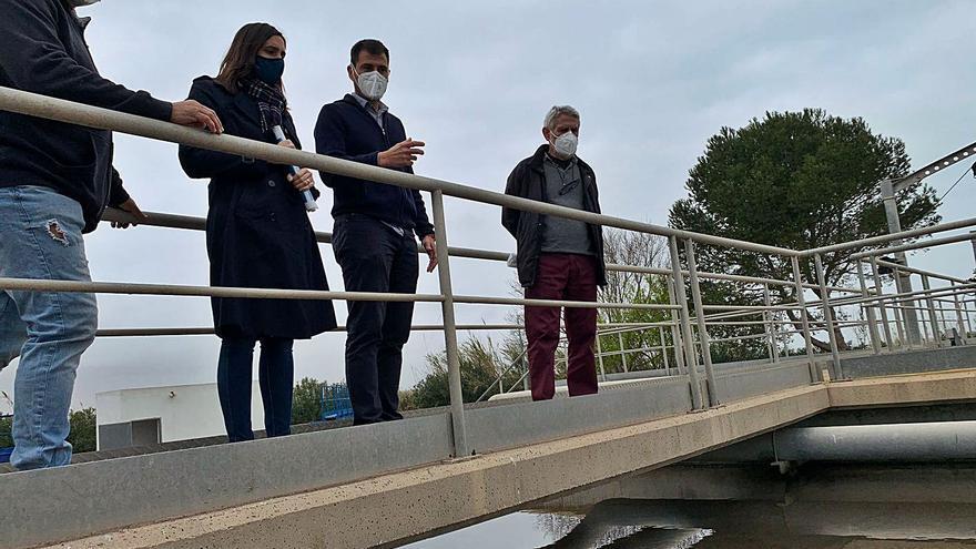 Mejoras en la depuradora de aguas de El Perellonet
