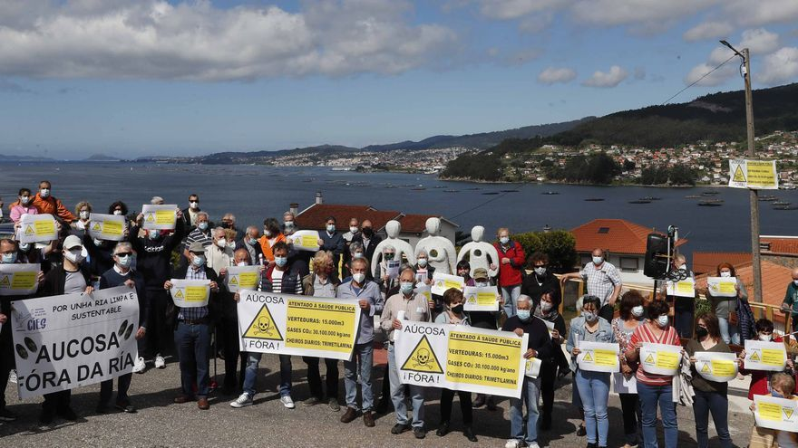 Los vecinos se movilizan para que retiren la autorización ambiental a Aucosa