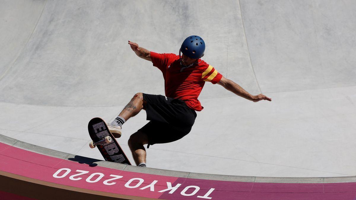 El mallorquín Jaime Mateu durante su participación en los Juegos.