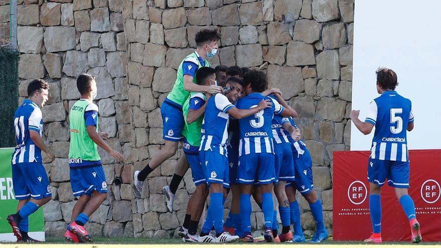 El Juvenil del Dépor jugará la final de la Copa de Campeones