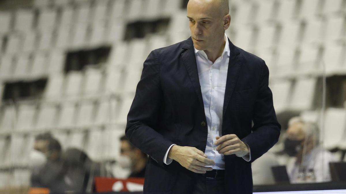 Carles Marco, entrenador del Bàsquet Girona