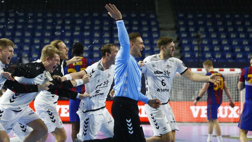 El Kiel frustra la décima Copa de Europa del Barcelona