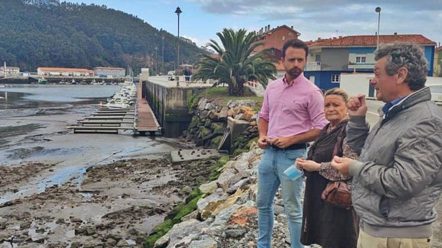 El PP critica la dejadez del PSOE con el puerto de La Arena y urge su dragado