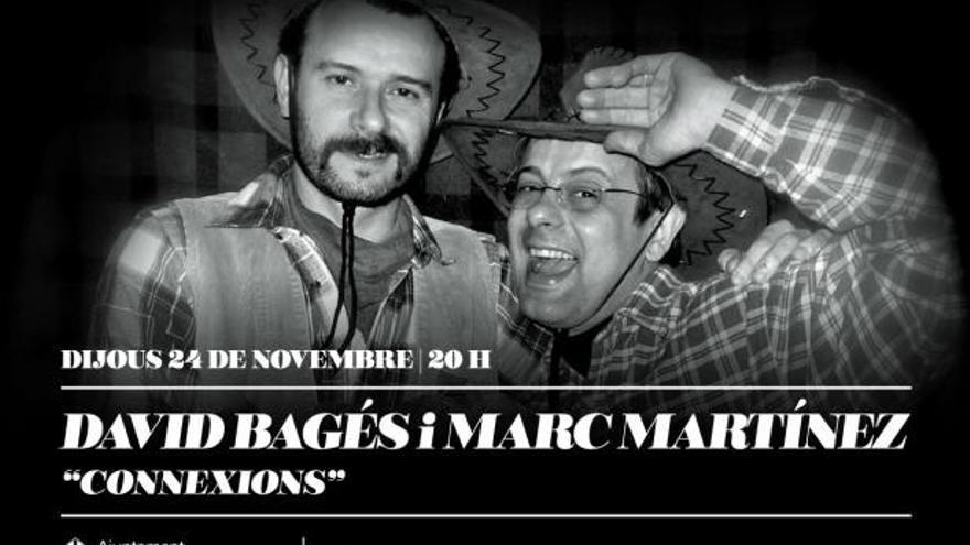 David Bagés i Marc Martínez parlen de l'amistat en el teatre