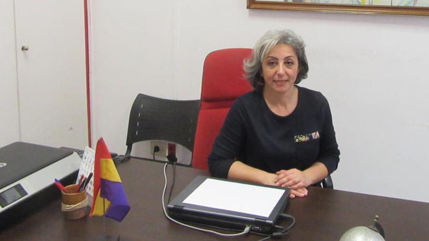 Alicia Moreno liderará la lista de EU en Burjassot