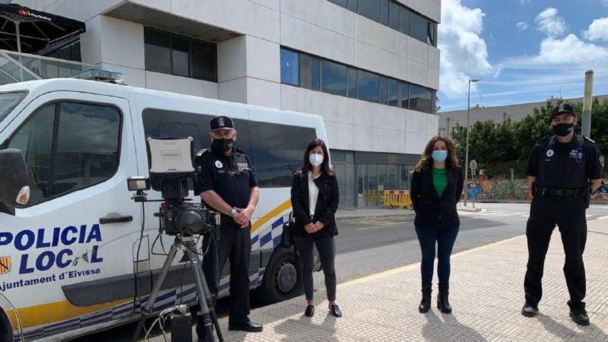 La Policía Local de Vila recibe un nuevo radar de Tráfico