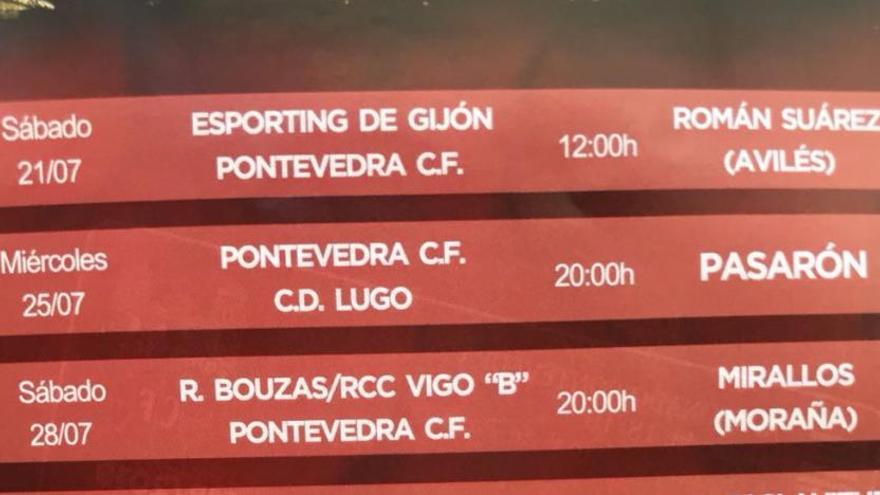 La curiosa equivocación del Pontevedra