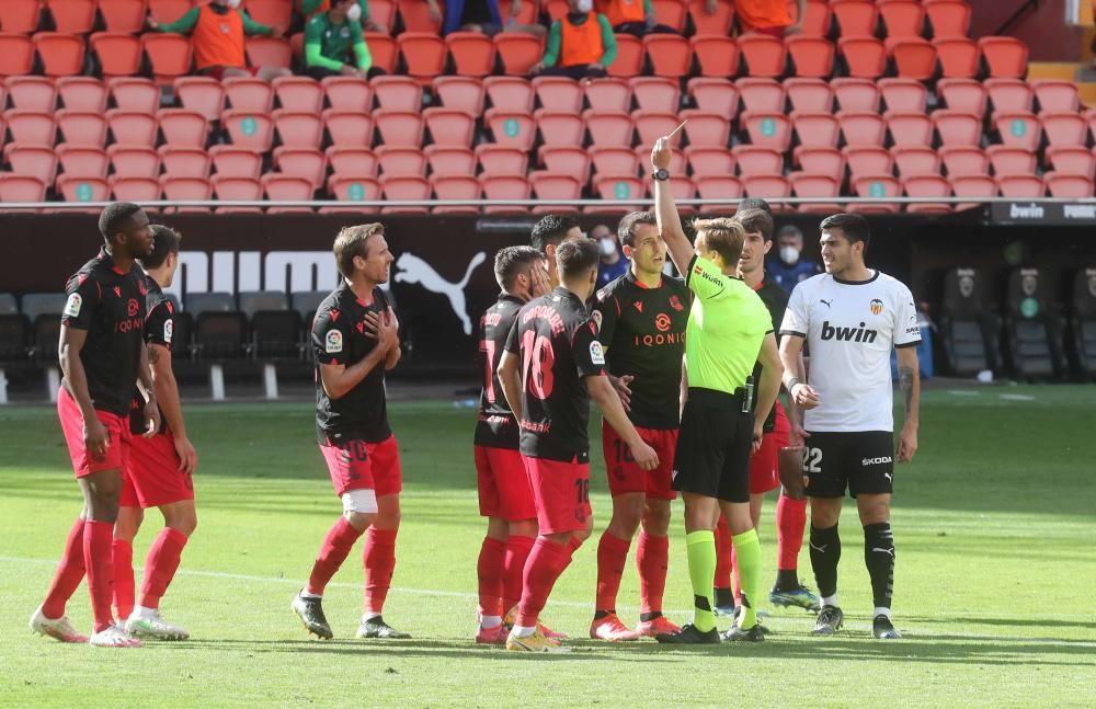 Valencia CF - Real Sociedad, en imágenes
