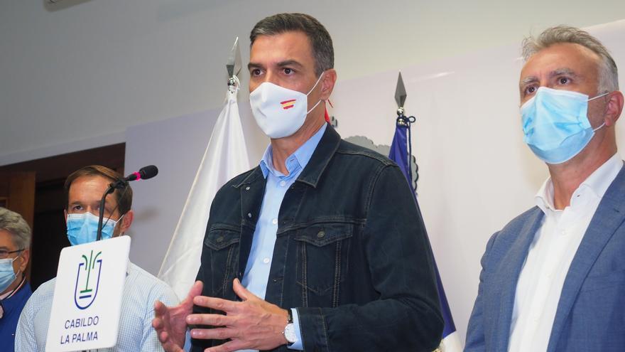 Sánchez pasará este lunes en La Palma y visitará las zonas afectadas por la erupción