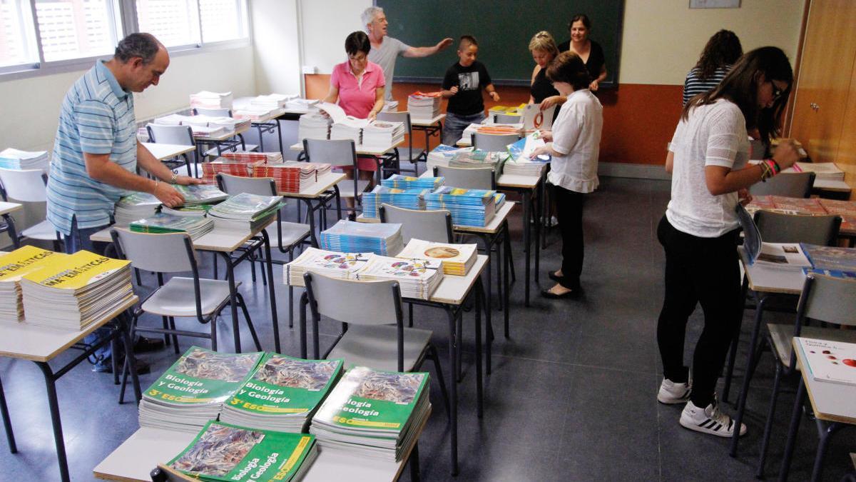 Organización del Programa Releo en un centro de Zamora.