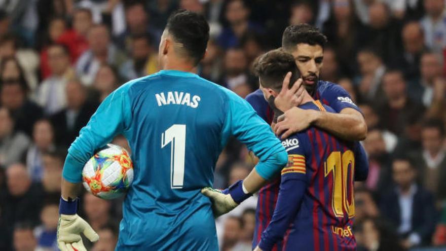 Copa del Rey: el primer gol de Luis Suárez en el Real Madrid-Barcelona