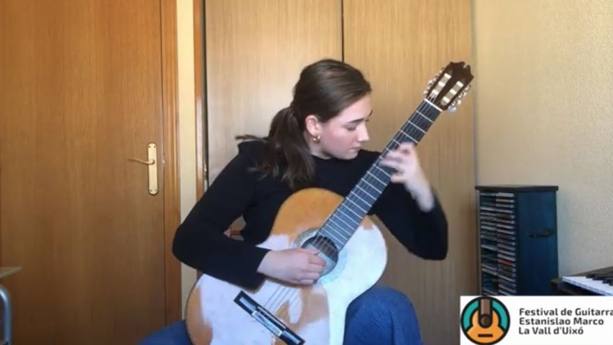 #Encasaconmiguitarra, el concurso internacional 'on line' de guitarra de la Vall ya tiene ganadores